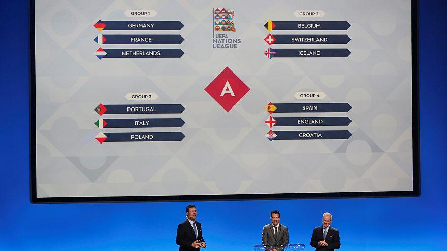 قرعة بطولة الأمم الأوروبية تسفر عن مواجهات قوية