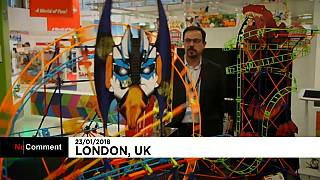 London's 65th annual toy fair begins