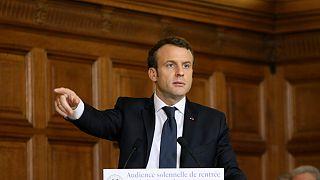 """Davos: Emmanuel Macron quer """"Fazer o Planeta Grande outra vez"""""""
