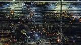 Cina, 1500 operai costruiscono una stazione ferroviaria in 9 ore