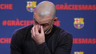 Mascherano: Barca-Abschied mit Tränen