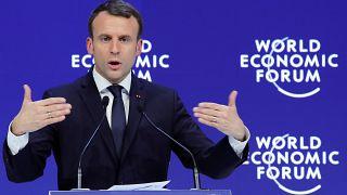 Macron pide un acuerdo global para aprovechar la globalización