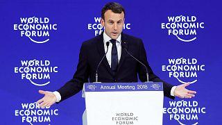A Davos, Emmanuel Macron veut croire à la mondialisation vertueuse