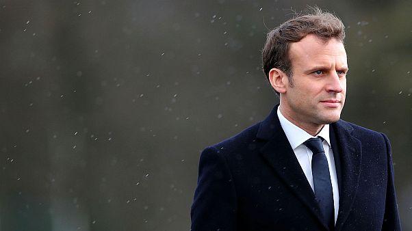 French President Emmanuel Macron set to speak at the World Economic Forum.