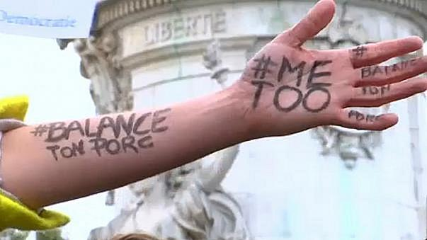 """من حملة """"أنا أيضا"""" ضد الاعتداءات الجنسية بحق النساء"""