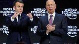 """France is back"" - Macron fordert in Davos Mut für Investitionen"