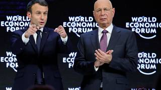 """France is back"" - Macron fordert in Davos Mut für Investitionen"