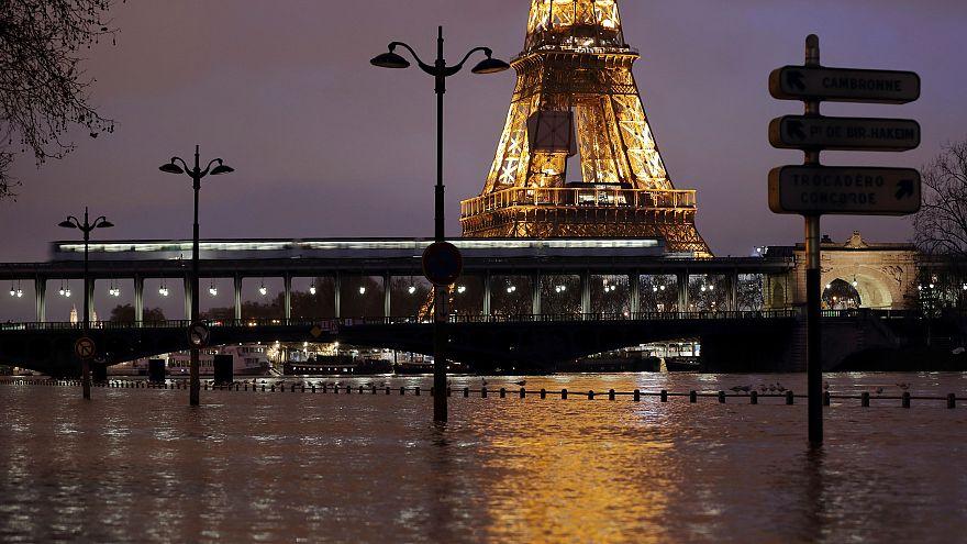 Las crecidas fluviales ponen en alerta a Francia