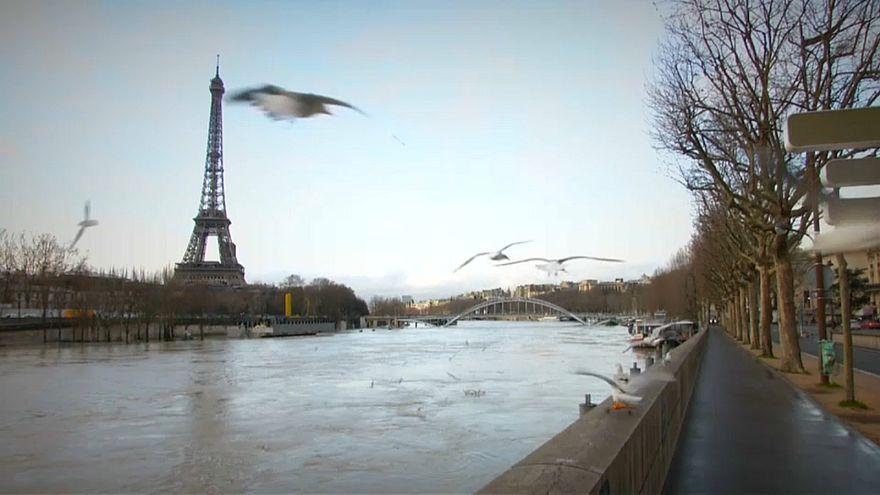 باريس تغرق تحت نهر السين ..