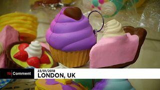 В Лондоне открылась выставка игрушек