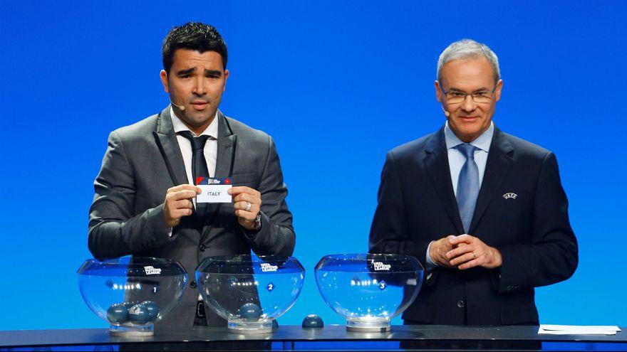 Deco retira do pote o nome da Itália para o grupo de Portugal