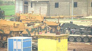 Avanza la operación turca en Afrín