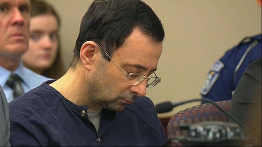 Larry Nassar condannato a 175 anni di carcere