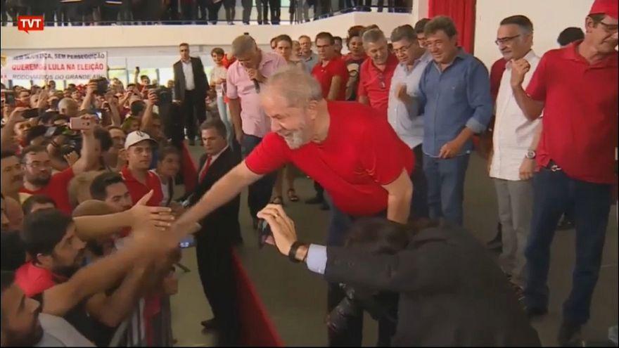 "Ex-Brazilian president Lula da Silva says ""I committed no crime"""