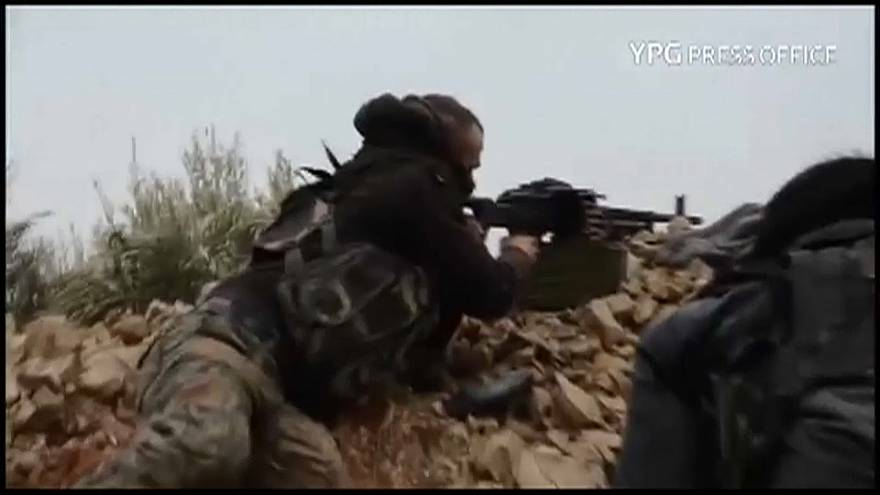 Turkish troops meet stiff resistance from Kurdish YPG