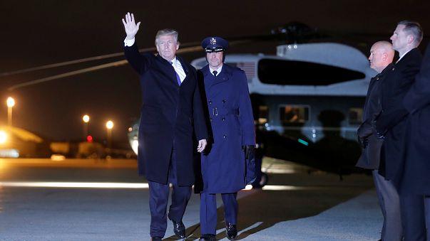 """Ingérence russe : Donald Trump """"prêt"""" à être interrogé sous serment"""
