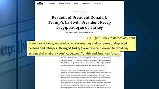Invasione turca di Afrin, l'altolà di Donald Trump