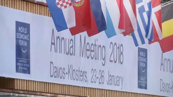 In Davos ist dieser Tage unübersehbar: es ist wieder Weltwirtschaftsforum