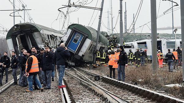 سانحه ریلی در شمال ایتالیا سه کشته بر جا گذاشت