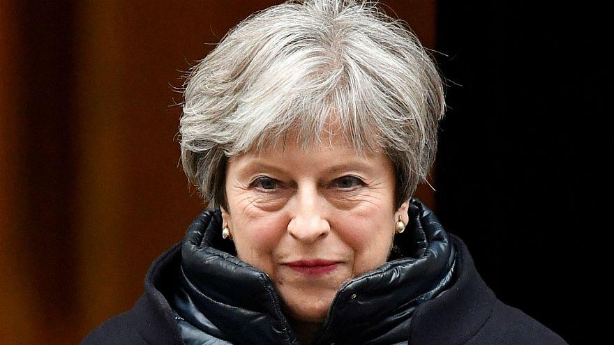Theresa May sur le devant de la scène à Davos