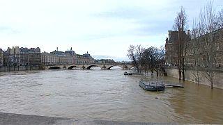 Louvre basement closed as Seine surges