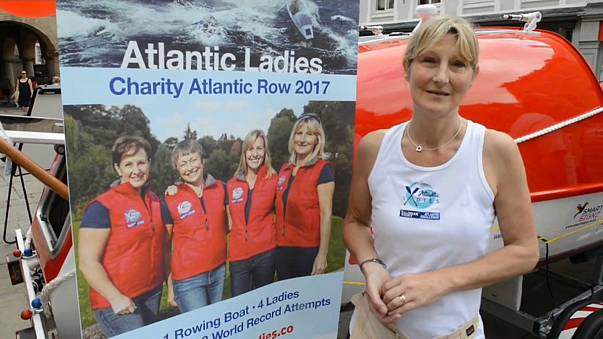 Three middle-aged women take on the 'world's toughest rowing race'