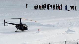 Trump in Davos eingetroffen