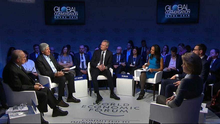 Davos 2018 : revivez le grand débat sur les défis de l'Europe