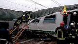 """Cattaneo: """"deragliamento per un cedimento strutturale della rete o del convoglio"""""""