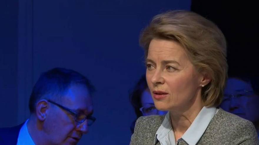 von der Leyen sprach über die französich-deutsche Kooperation in Europa