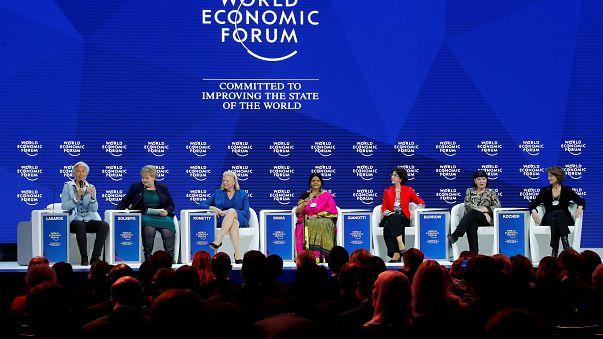 As 7 co-diretoras do Fórum Económico Mundial