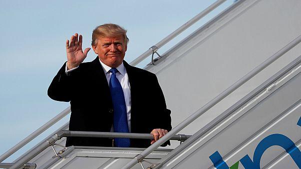 ترامب يصل إلى دافوس