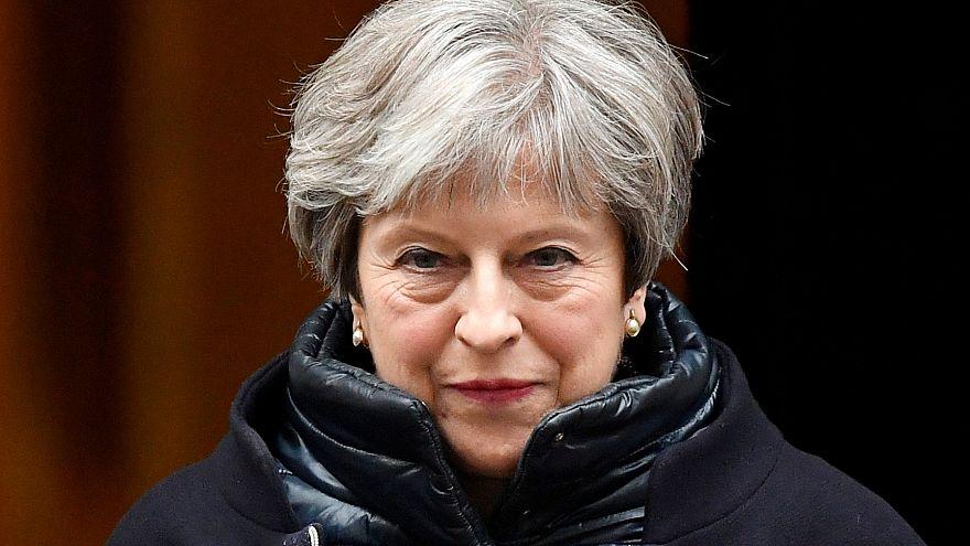 """Theresa May fordert eine """"weltweite digitale Verfassung"""""""