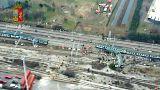 Zug bei Mailand entgleist: 3 Tote und viele Verletzte
