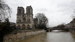 Fransa'da nehirlerin su seviyesi yükseliyor