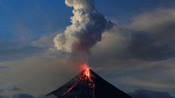 Philippinen: Angst vor Vulkanausbruch