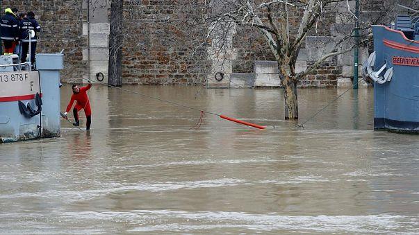 La France en vigilance orange aux inondations