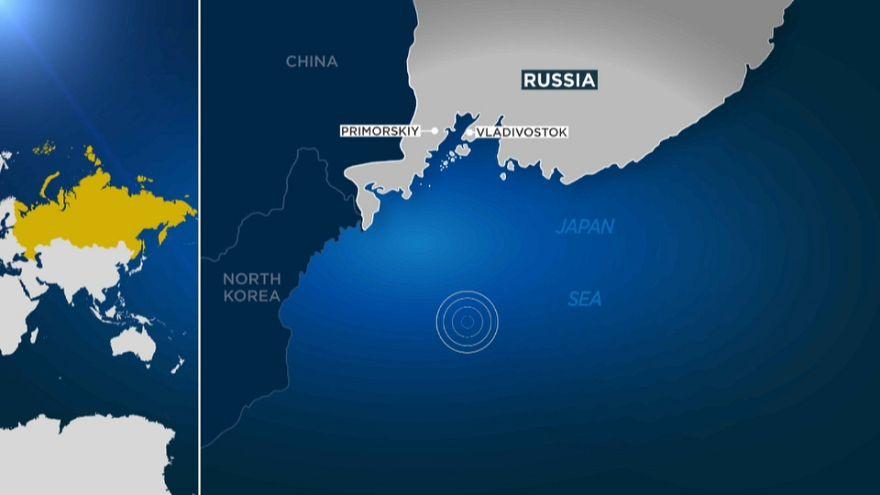 Peschereccio russo con 21 persone disperso nel Mare del Giappone