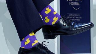 I calzini del premier canadese Justin Trudeau