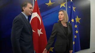 Türkiye ile AB arasında diyaloğa devam mesajı