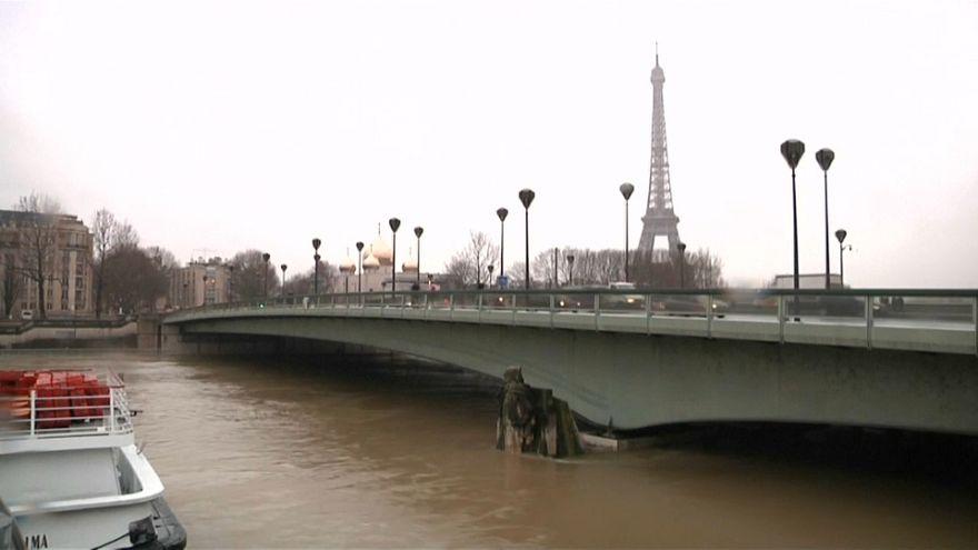 El Sena inunda París por las fuertes lluvias