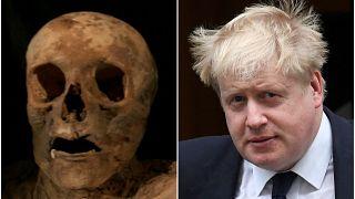La mummia di Basilea è una lontana parente di... Boris Johnson