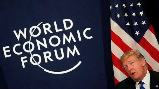 Donald Trump já está em Davos para o Fórum Económico Mundial