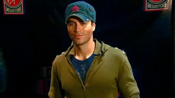 Enrique Iglesias en California.