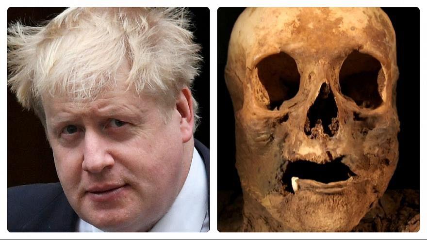 İngiliz Dışişleri Bakanı'nın mumya akrabası
