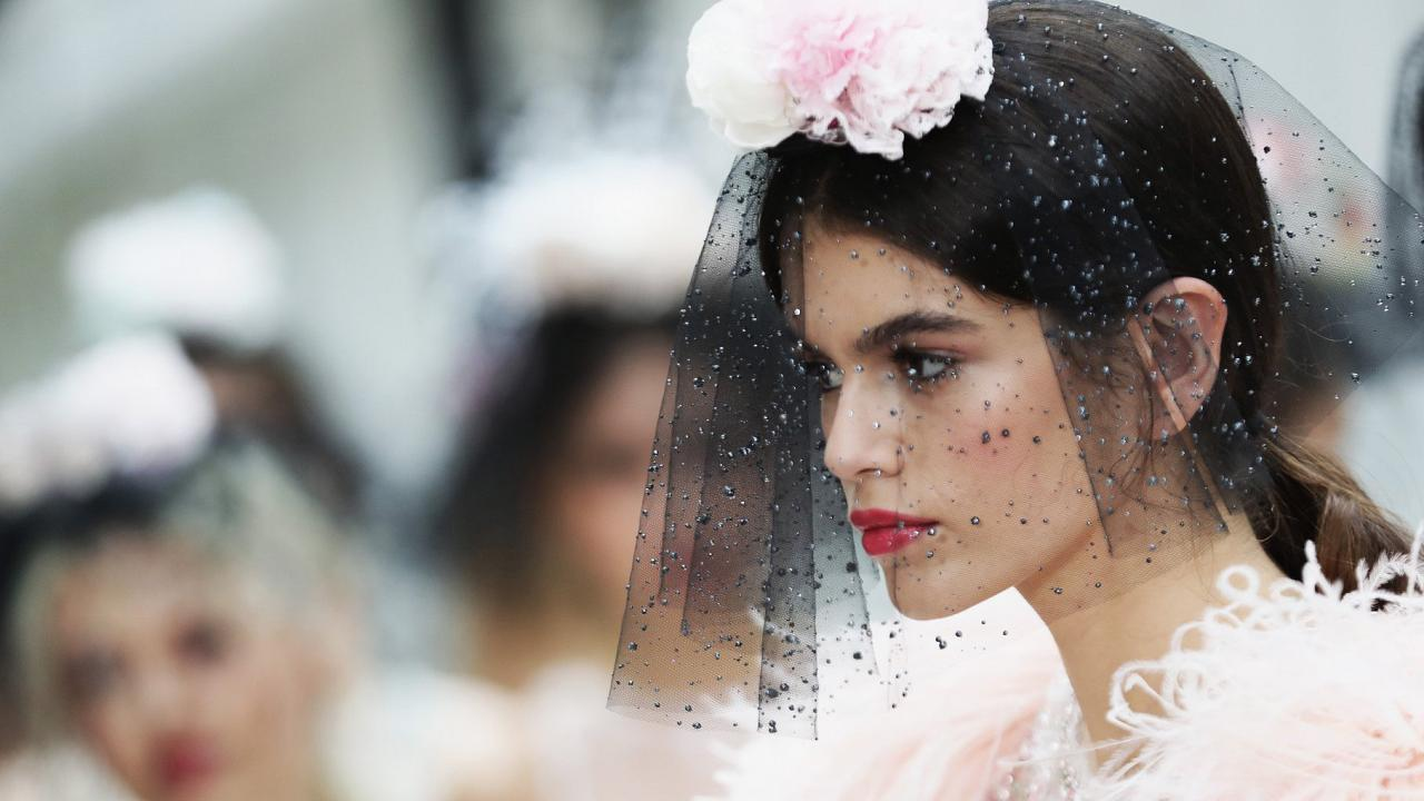 The Chanel collection Haute Couture Spring/Summer 2018