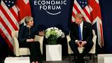 Ντόναλντ Τραμπ: «Έχουμε εξαιρετική σχέση με την Τερέζα Μέι»