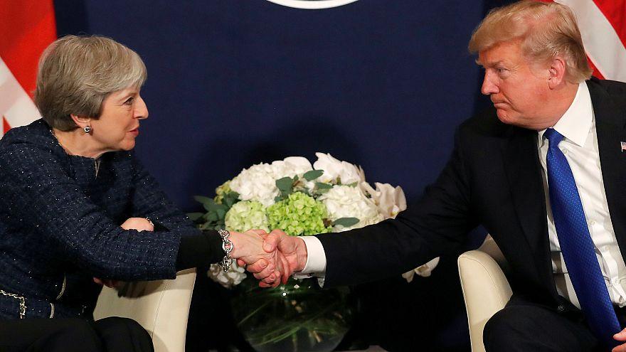 A Davos si consolida l'asse Trump-May
