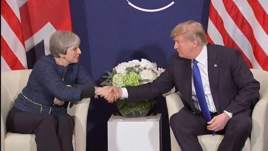 Trump: İngiltere ile ticari ilişkilerimiz muazzam bir yükselişe geçecek