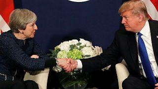 """Trump mit May """"auf einer Wellenlänge"""""""